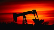 Ölförderpumpe in Oklahoma