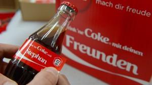 Die Cola, die deinen Namen trägt