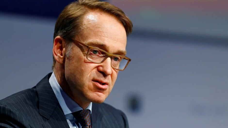 Bundesbank-Präsident Jens Weidmann auf einem Bankenkongress