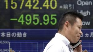 Asiens Börsenkurse sacken ab