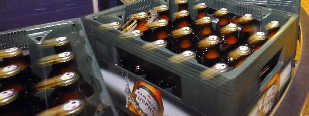 Die Produktion läuft, der Bierkonsum stagniert, bestenfalls.