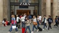 Die Zara-Kette gehört zum spanischen Inditex-Konzern.