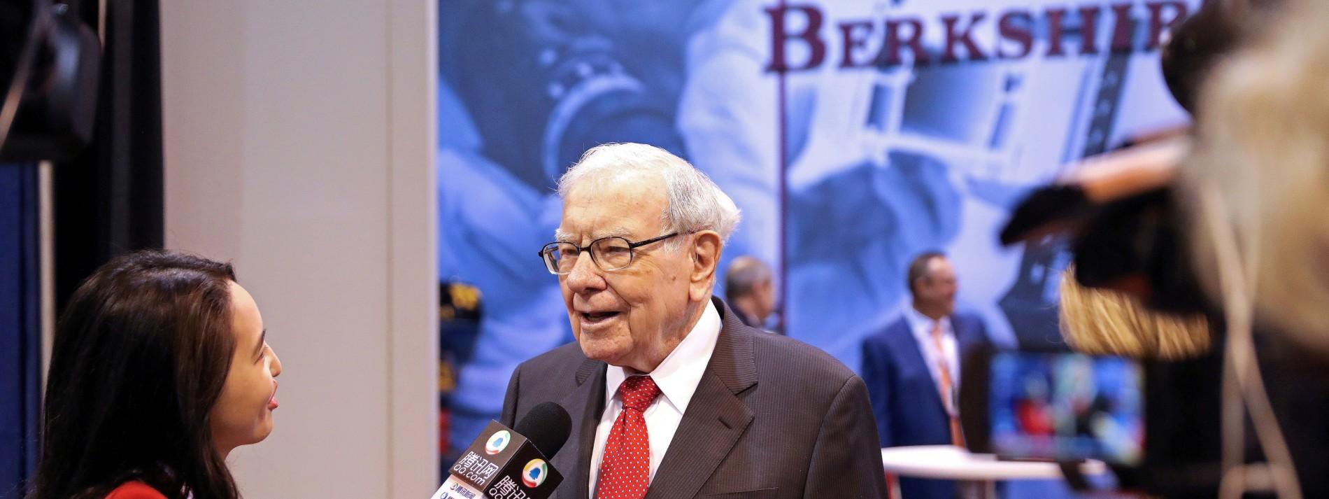 Warren Buffett tut sich schwer