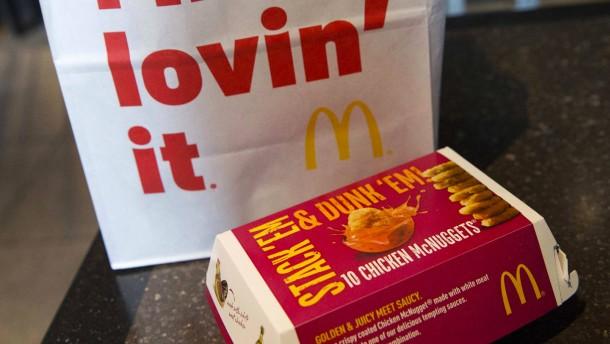 McDonald's will keine Antibiotika mehr im Hühnchen