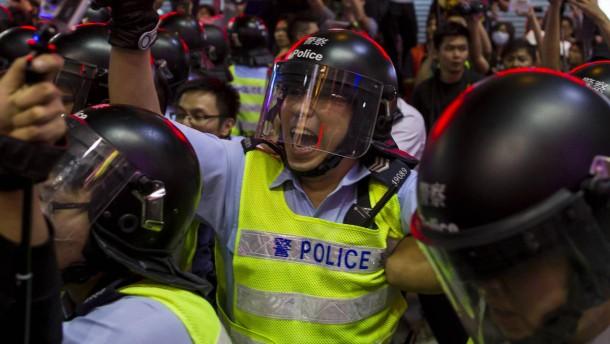 Hongkong droht die Eskalation