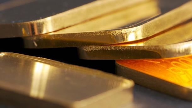 Schweizer Notenbank im Goldrausch