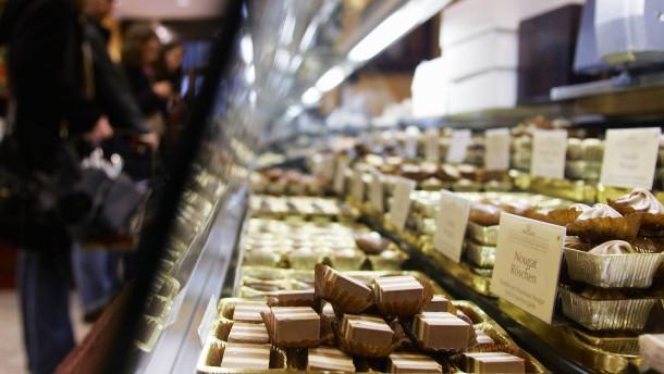 Schokolade war 2018 billiger