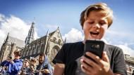 Grund zur Freude: Mal ganz schnell Taschengeld via Smartphone aufbessern