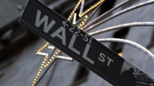 An der Wall Street üben sich Bullen und Bären im Tauziehen