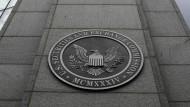 Die amerikanische Börsenaufsicht SEC in Washington
