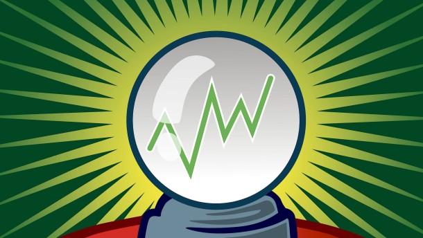 Was Prognosen bei der Geldanlage taugen