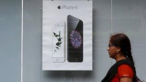 Apple auf dem Weg an den Ganges