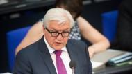 Die Deutschen wären für Steinmeier als Bundespräsidenten