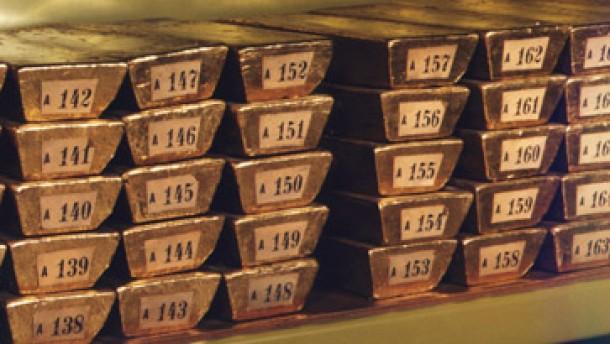 Bei Gold-Fonds ist auch der Dollarkurs wichtig
