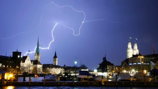 Geldwäsche mit dem Wetter in Zürich
