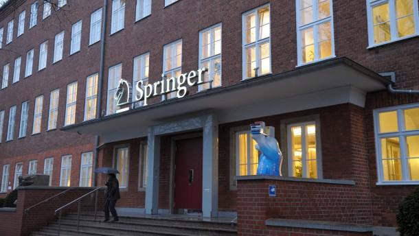 Verkauf von Springer Science an BC Partners offenbar geplatzt