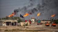 Weltweit brummt die Ölförderung - so auch im Irak