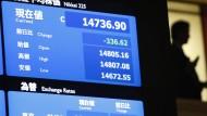 Tokio besorgt über Auf und Ab des Yen