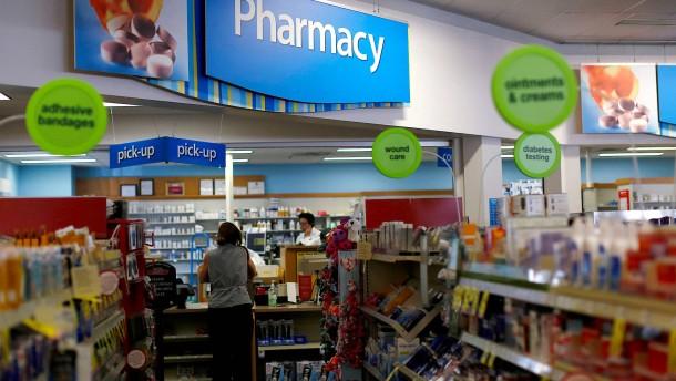 Angriff gegen die Schmerzmittel-Industrie