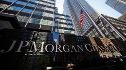 JP Morgan verdient 31 Milliarden Dollar
