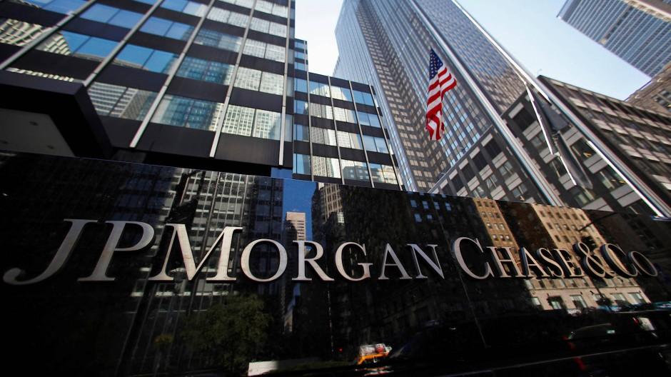 JP Morgan, Amerikas größte Bank, hat im vergangenen Jahr einen Rekordgewinn erzielt.