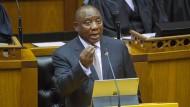 Südafrikas Präsident Cyril Ramaphosa: Der Aktienmarkt und die Währung seines Landes sind stark in das Jahr gestartet.