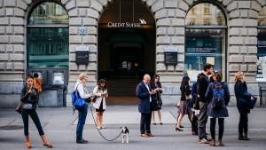 Schweizer Franken verliert an Kraft