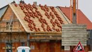 Deutlich mehr Baugenehmigungen für neue Wohnungen erteilt