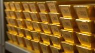 Nach Angaben der Bundesbank liegen nun 1619 Tonnen oder 47,9 Prozent des deutschen Goldschatzes in heimischen Tresoren.