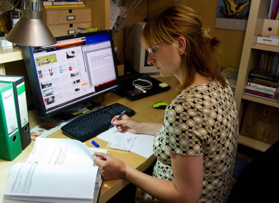Steuertipp: Arbeit im Home-Office - Steuertipps - FAZ