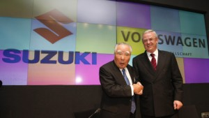 VW-Aktien profitieren vom Einstieg bei Suzuki