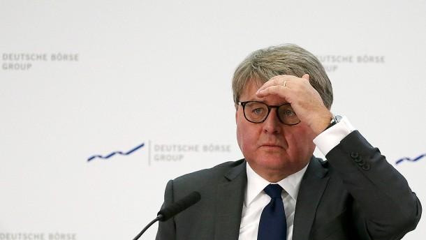 Desaster für den Börsenchef
