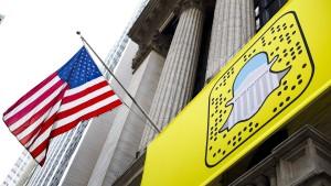 Snap stürzt an der Börse ab