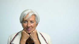 Applaus für Lagarde – und ein paar Buhrufe
