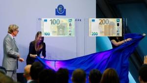 Die neuen Euro-Scheine sind da