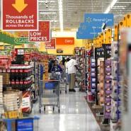 Konsumlaune trübt sich ein: Supermarkt in Amerika