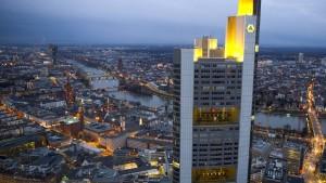 Commerzbank zahlt wieder Dividende