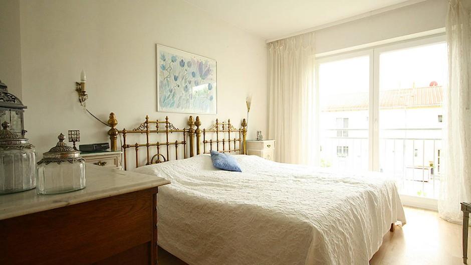 Ein schön gemachtes Bett macht gute Laune.