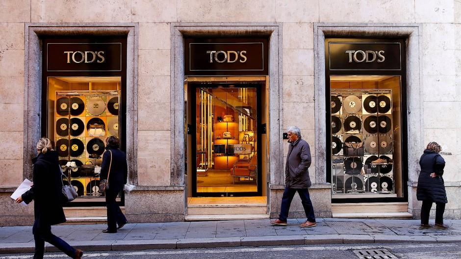 Luxus-Laden von Tod's in Rom: Der französische LVMH-Konzern ist an der italienischen Marke beteiligt.
