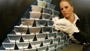 Riskante Gelegenheit zum Silberkauf