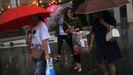 Peking wird überflutet
