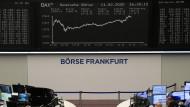 Dienstag an der Frankfurter Börse: Auf dem Weg zum Rekordhoch