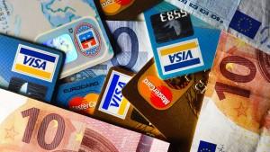 Banken fürchten Kreditkartenbetrug