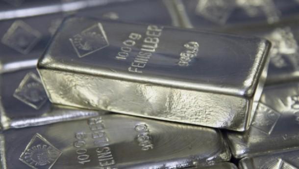 Silber fürs  Depot