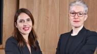 Dagmar Valcárcel (rechts) bei ihrer Ernennung zur Managerin bei der Andbank im Jahr 2018