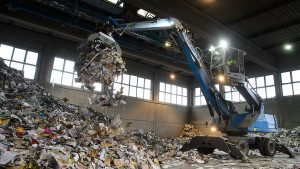 Zum Fest ein großer Haufen Müll