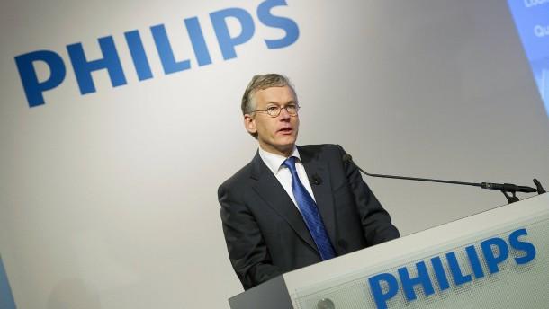 Philips kommt voran