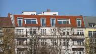 Das Potential durch die Aufstockung von Häusern ist enorm, sagen die Wissenschaftler von der TU Darmstadt.