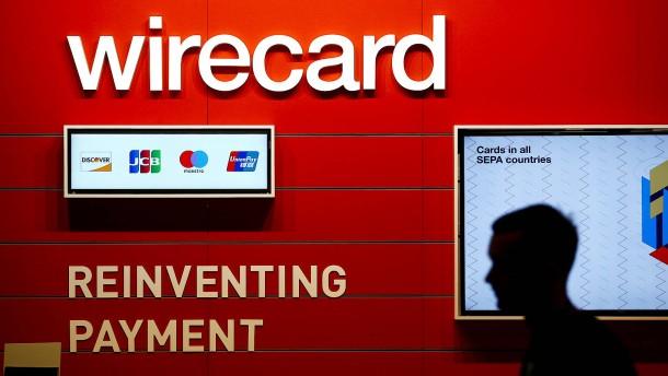 Aktienkurs von Wirecard fällt um 13 Prozent
