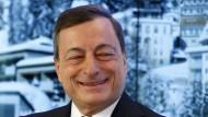 Hat gut lachen: Der Präsident der Europäischen Zentralbank Mario Draghi.